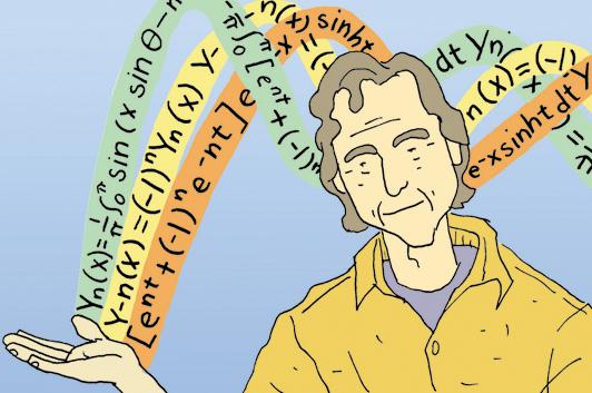 Feynman's a Rainbow!