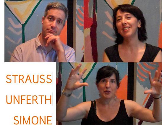 #1: Darin Strauss, Deb Olin Unferth, Alina Simone