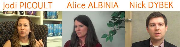 Beatrice #2: Jodi Picoult, Alice Albinia, & Nick Dybek