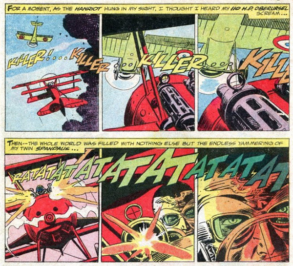 Joe Kubert, Enemy Ace